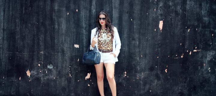 Look – Off Withe + Leopardo